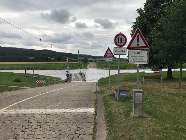 Weserfähre Großenwieden